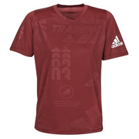Kleidung Herren T-Shirts adidas Performance DAILY PRESS TEE Rot