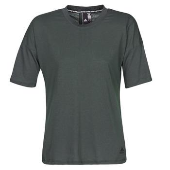 Kleidung Damen T-Shirts adidas Performance W MH 3S Tee Schwarz