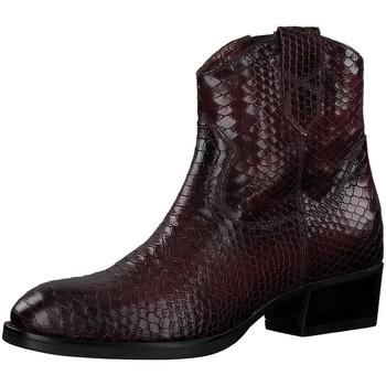 tamaris -   Stiefel Stiefeletten Rote Stiefelette im Cowboy-Style 25861-549