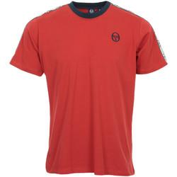 Kleidung Herren T-Shirts Sergio Tacchini Dahoma T-Shirt Rot