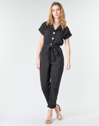 Kleidung Damen Overalls / Latzhosen Betty London MYRTIL Schwarz
