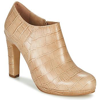 Schuhe Damen Ankle Boots Fericelli OMBRETTA Beige