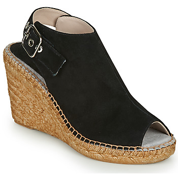 Schuhe Damen Sandalen / Sandaletten Fericelli MAURINE Schwarz