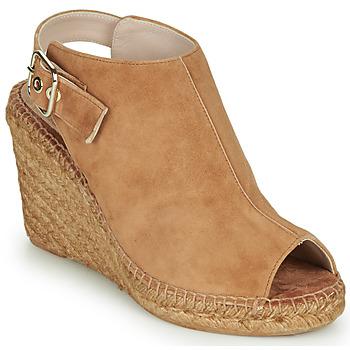 Schuhe Damen Sandalen / Sandaletten Fericelli MAUD Camel
