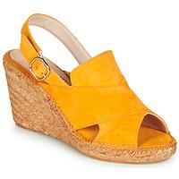 Schuhe Damen Sandalen / Sandaletten Fericelli MARIE Gelb