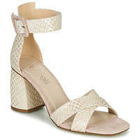 Schuhe Damen Sandalen / Sandaletten Fericelli JEZI Weiss / Rose