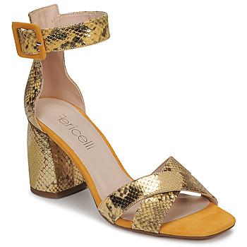 Schuhe Damen Sandalen / Sandaletten Fericelli JEZI Gelb