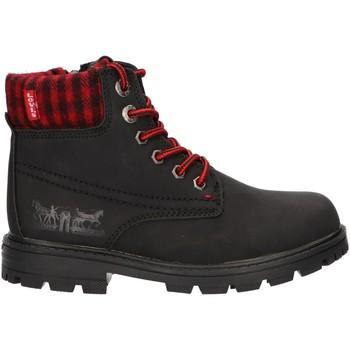 Schuhe Kinder Boots Levi's VFOR0001S FORREST Negro