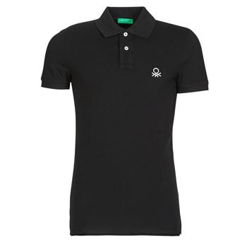 Kleidung Herren Polohemden Benetton MARNELLI Schwarz