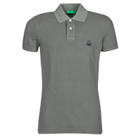 Kleidung Herren Polohemden Benetton  Grau
