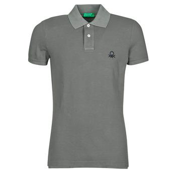Kleidung Herren Polohemden Benetton MARADI Grau