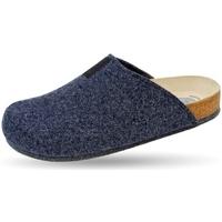 Schuhe Hausschuhe Weeger Hausschuh Art. 48017-30 TWEED marine