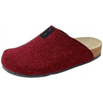 Schuhe Hausschuhe Weeger Hausschuh Art. 48017-63 TWEED bordo