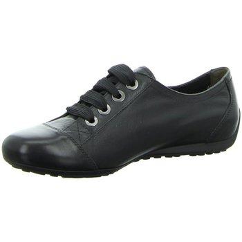 Schuhe Damen Sneaker Low Semler Schnuerschuhe N6056-013-001 schwarz