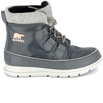 Schuhe Boots Sorel Explorer Carnaval Dark Slate Grau