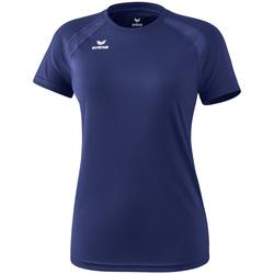 Kleidung Damen T-Shirts Erima T-shirt femme  Performance bleu