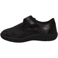 Schuhe Damen Slipper Davema 5254 BLACK