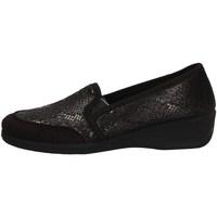 Schuhe Damen Slipper Davema 74240 BLACK