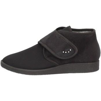 Schuhe Damen Ankle Boots Davema 386 BLACK