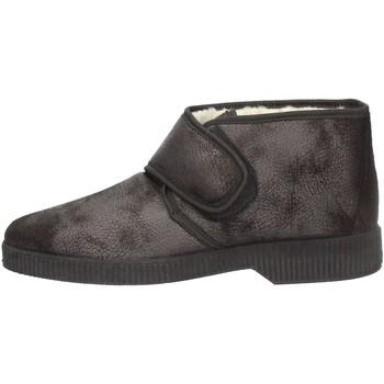 Schuhe Herren Boots Davema 3377 BLACK