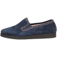 Schuhe Herren Hausschuhe Davema 1385 BLUE