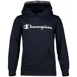 Kleidung Jungen Sweatshirts Champion Sweatshirt mit Kapuze Kid's Baumwolle Blau