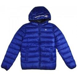 Kleidung Jungen Daunenjacken Champion Boy's  Kapuzenjacke Blau