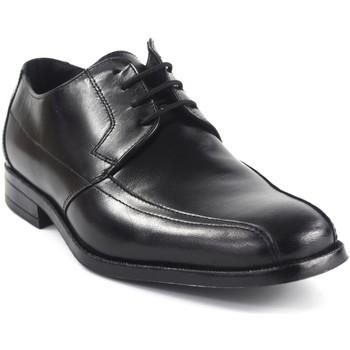 Schuhe Herren Derby-Schuhe Baerchi 2631 schwarz Schwarz