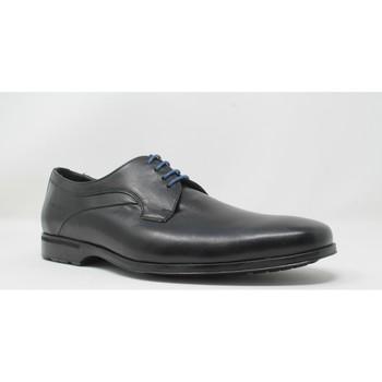 Schuhe Herren Derby-Schuhe Baerchi 4970 schwarz Schwarz