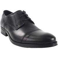 Schuhe Herren Derby-Schuhe Baerchi 2752 schwarz Schwarz