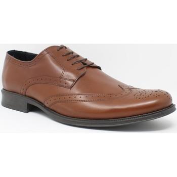 Schuhe Herren Richelieu Bienve Herren  1605 Lederschuh Braun
