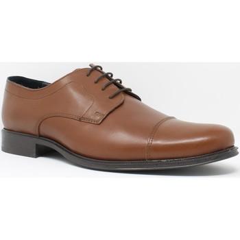 Schuhe Herren Derby-Schuhe Bienve Herren  1355 Lederschuh Braun