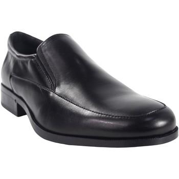 Schuhe Herren Slipper Baerchi 4682 schwarz Schwarz