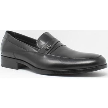 Schuhe Herren Slipper Baerchi 4687 schwarz Schwarz