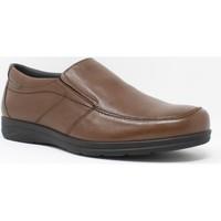 Schuhe Herren Slipper Baerchi 3800 braun Braun