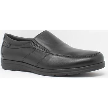 Schuhe Herren Slipper Baerchi 3800 schwarz Schwarz