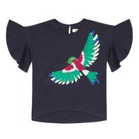 Kleidung Mädchen T-Shirts Catimini MATIGNON Blau