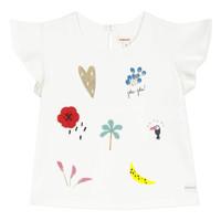 Kleidung Mädchen T-Shirts Catimini NADEGE Weiss