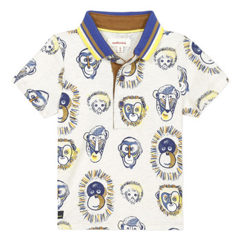 Kleidung Jungen Polohemden Catimini ANAELE Beige