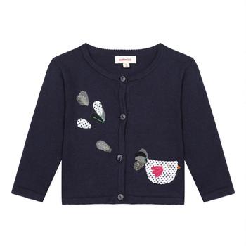 Kleidung Mädchen Strickjacken Catimini LOUNA Blau