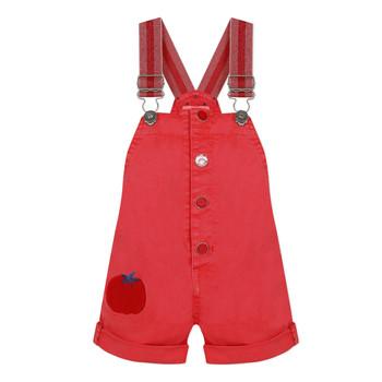 Kleidung Mädchen Overalls / Latzhosen Catimini SIBYLLE Rot