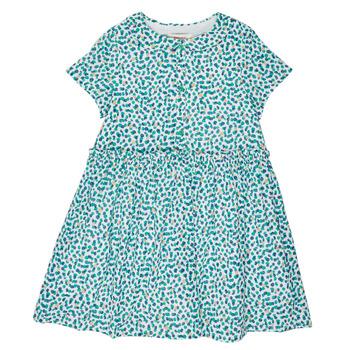 Kleidung Mädchen Kurze Kleider Catimini ELLA Weiss