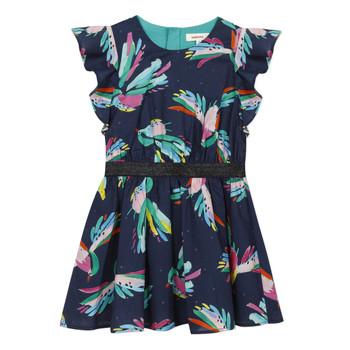 Kleidung Mädchen Kurze Kleider Catimini CESAR Blau