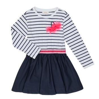 Kleidung Mädchen Kurze Kleider Catimini BASILE Weiss
