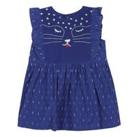 Kleidung Mädchen Kurze Kleider Catimini CHARLES Blau