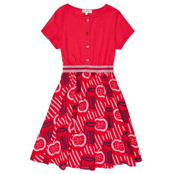 Kleidung Mädchen Kurze Kleider Catimini MANOA Rot