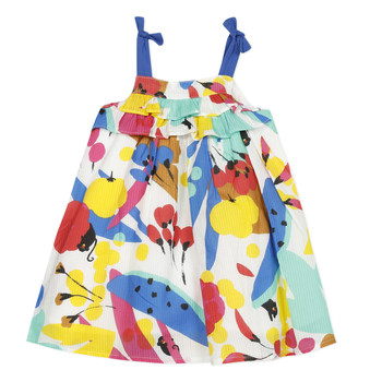 Kleidung Mädchen Kurze Kleider Catimini THEO Weiss