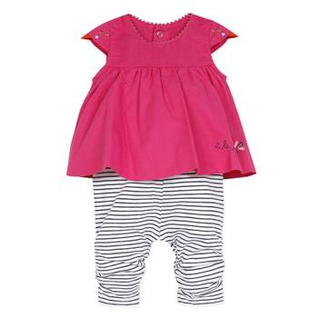 Kleidung Mädchen Overalls / Latzhosen Catimini ALOIS Rot