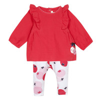 Kleidung Mädchen Kleider & Outfits Catimini TAHYS Rot