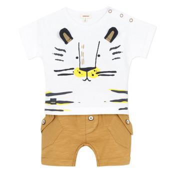 Kleidung Jungen Kleider & Outfits Catimini AYDEN Beige